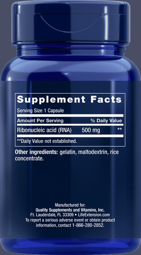 RNA Capsules, 500 mg, 100 capsules 2