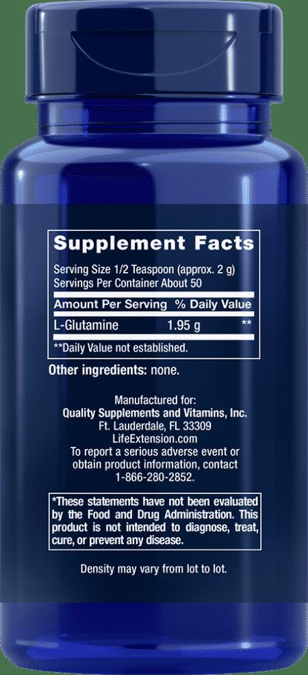 L-Glutamine Powder, 100 grams 2