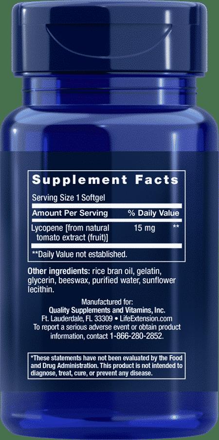 Mega Lycopene, 15 mg, 90 softgels 2