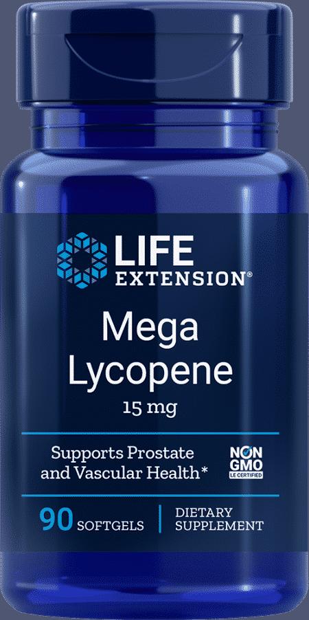 Mega Lycopene, 15 mg, 90 softgels 1