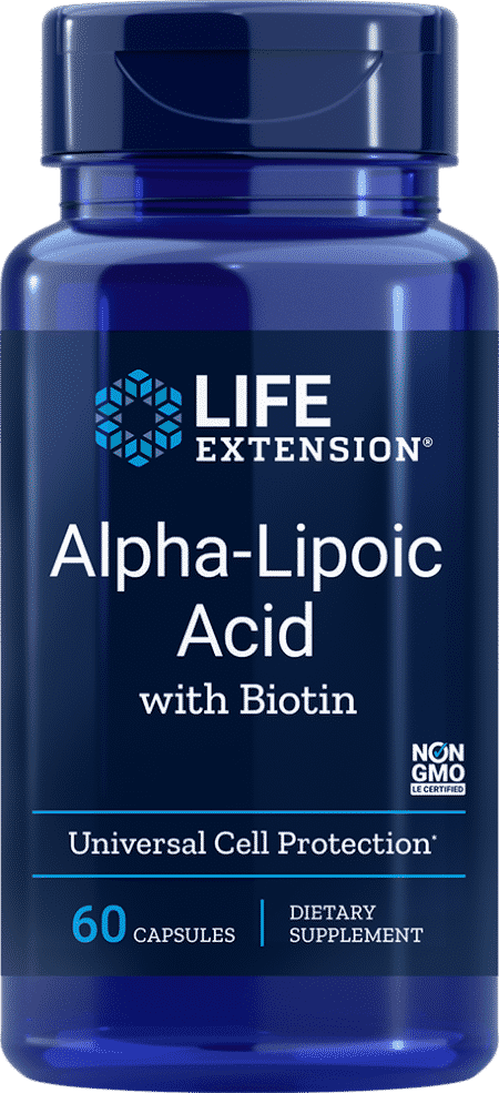 Alpha-Lipoic Acid with Biotin, 60 capsules 1