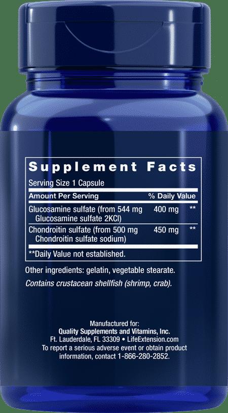 Glucosamine/Chondroitin Capsules, 100 capsules 2