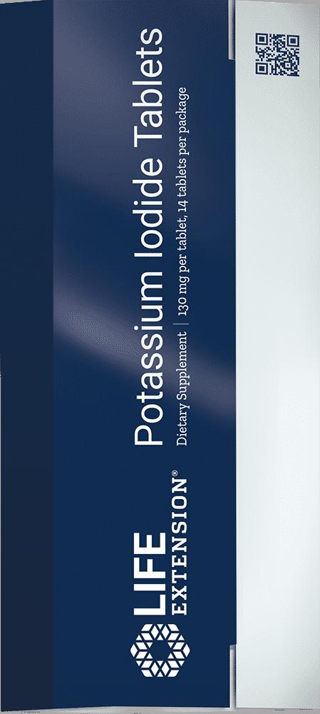 Potassium Iodide Tablets , 130 mg, 14 tablets 1