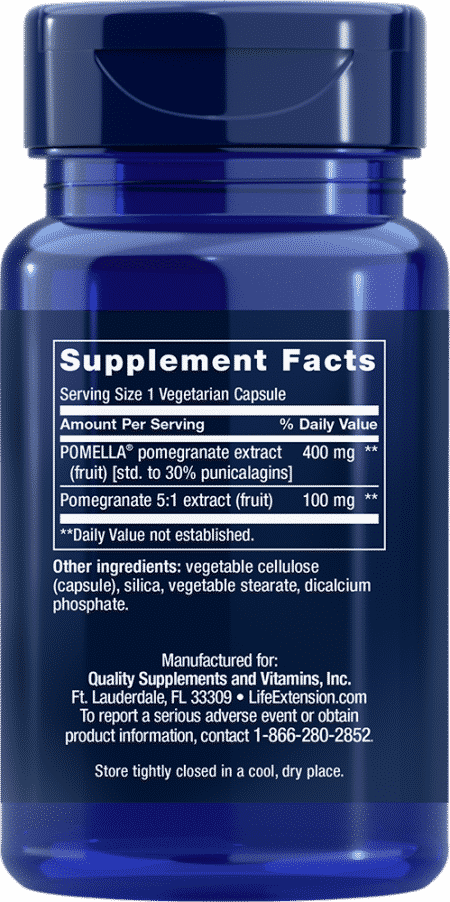 Pomegranate Extract Capsules, 30 VeggieC 2