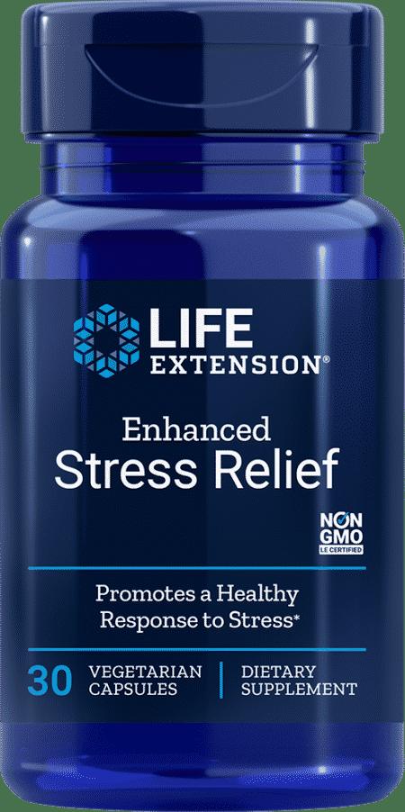 Enhanced Stress Relief, 30 vegetarian capsules 1
