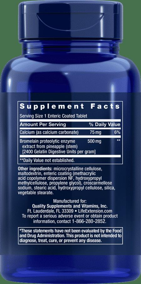 Specially-Coated Bromelain, 500 mg, 60 Ent-CoatT 2