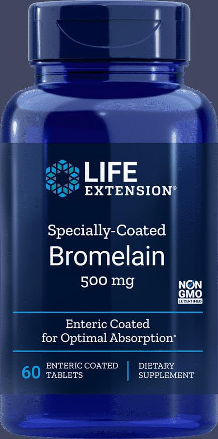 Specially-Coated Bromelain, 500 mg, 60 Ent-CoatT 1