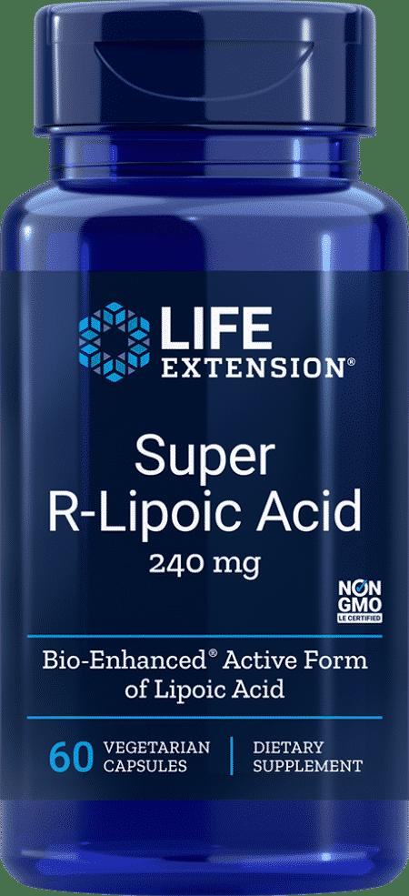 Super R-Lipoic Acid, 240 mg, 60 VeggieC 1
