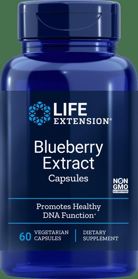 Blueberry Extract Capsules, 60 vegetarian capsules 1