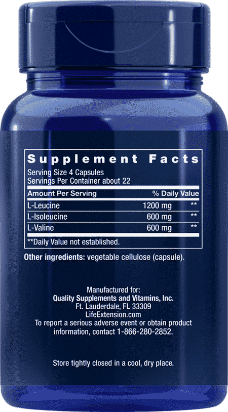 Branched Chain Amino Acids, 90 capsules 2