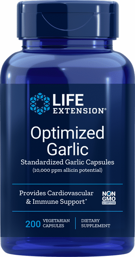 Optimized Garlic, 200 vegetarian capsules 1