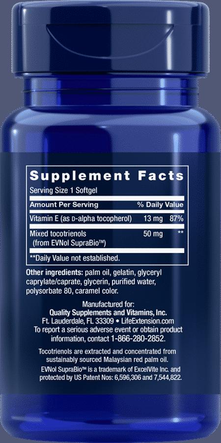 Super Absorbable Tocotrienols, 60 softgels 2