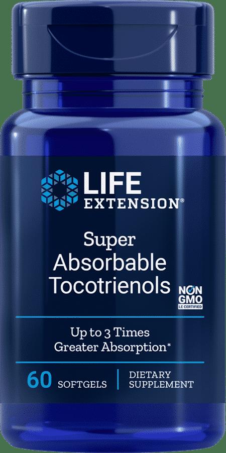 Super Absorbable Tocotrienols, 60 softgels 1