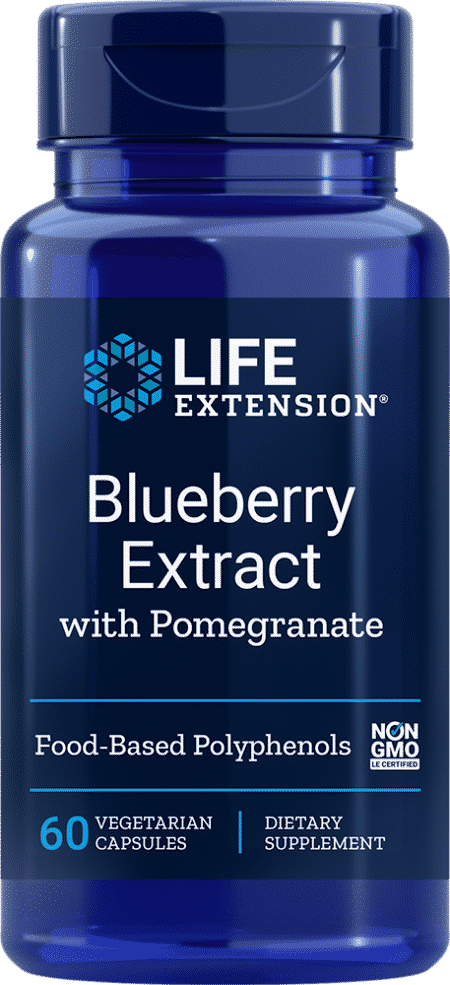 Blueberry Extract with Pomegranate, 60 VeggieC 1