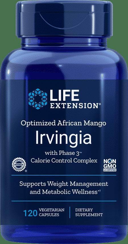 Opt Af Mango Irvingia w/ Phase 3™ CCC, 120 VeggieC 1
