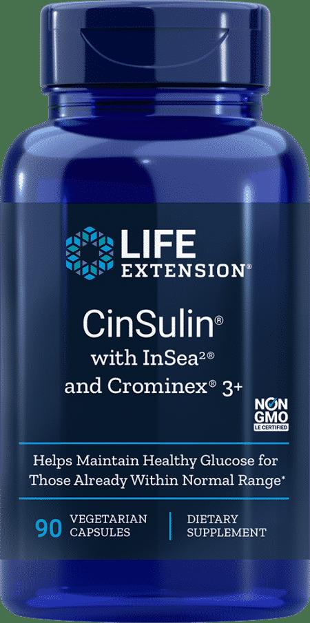 CinSulin® w/ InSea2® and Crominex® 3+, 90 VeggieC 1