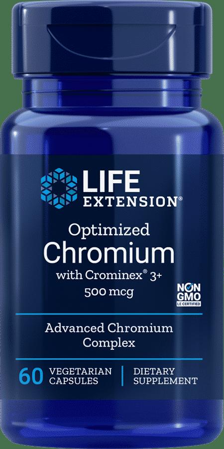 Opt Chromium w/ Crominex® 3+, 500 mg, 60 VeggieC 1