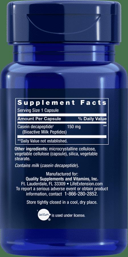 Bioactive Milk Peptides, 30 capsules 2