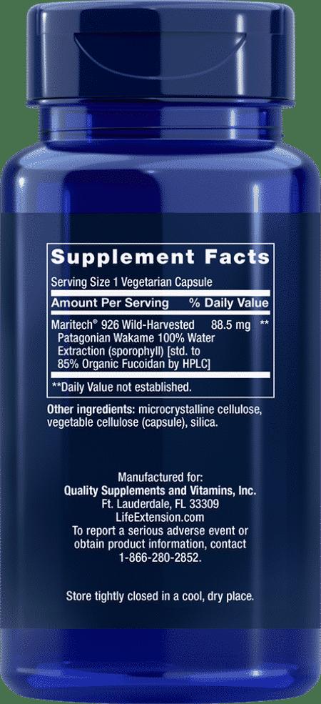 Optimized Fucoidan with Maritech® 926, 60 VeggieC 2