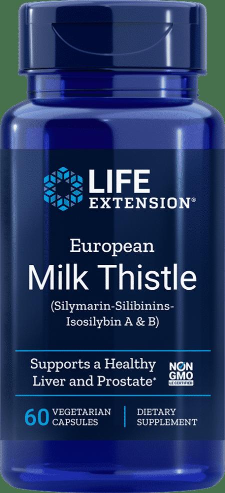European Milk Thistle, 60 vegetarian capsules 1
