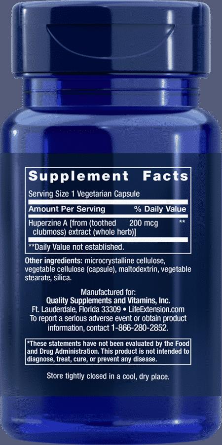 Huperzine A, 200 mcg, 60 vegetarian capsules 2