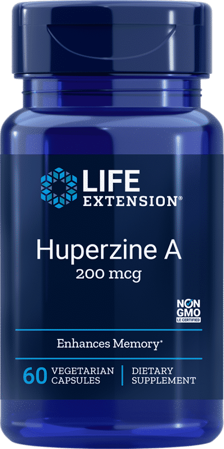 Huperzine A, 200 mcg, 60 vegetarian capsules 1