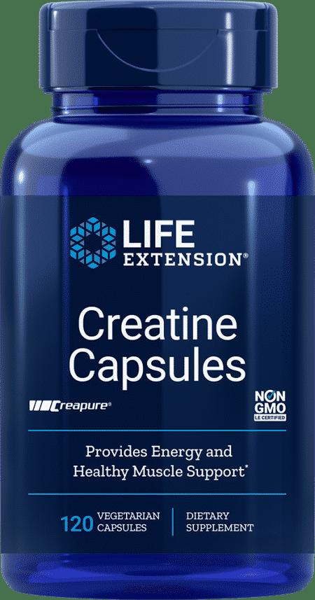 Creatine Capsules, 120 vegetarian capsules 1