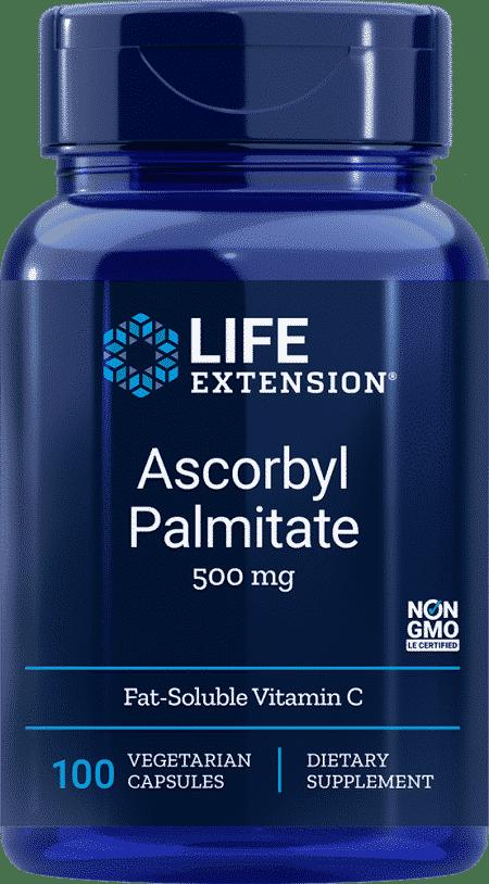 Ascorbyl Palmitate, 500 mg, 100 VeggieC 1