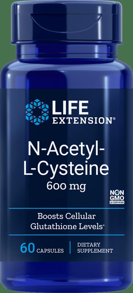 N-Acetyl-L-Cysteine, 600 mg, 60 VeggieC 1