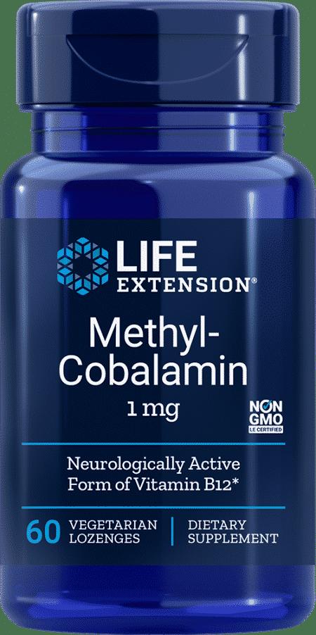 Methylcobalamin, 1 mg, 60 vegetarian lozenges 1