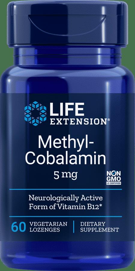 Methylcobalamin, 5 mg, 60 vegetarian lozenges 1
