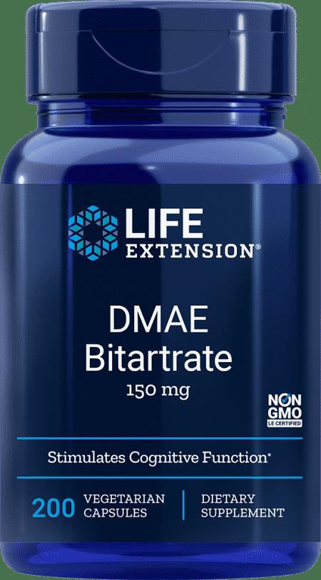 DMAE Bitartrate , 150 mg, 200 vegetarian capsules 1
