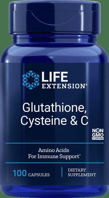 Glutathione, Cysteine & C 1