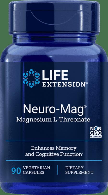 Neuro-Mag® Magnesium L-Threonate, 90 VeggieC 1