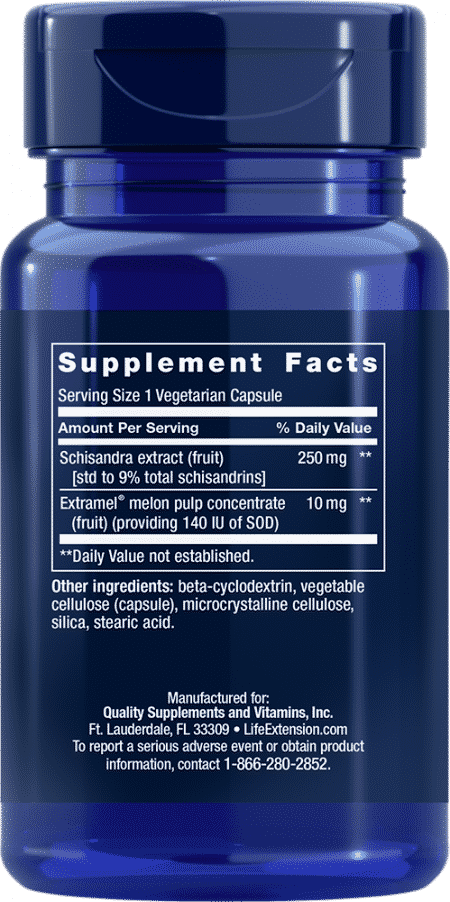 Liver Efficiency Formula, 30 vegetarian capsules 2