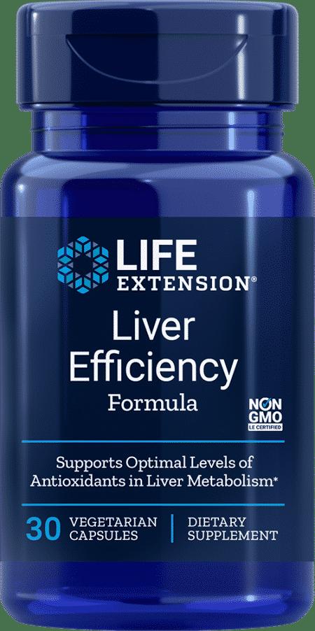 Liver Efficiency Formula, 30 vegetarian capsules 1