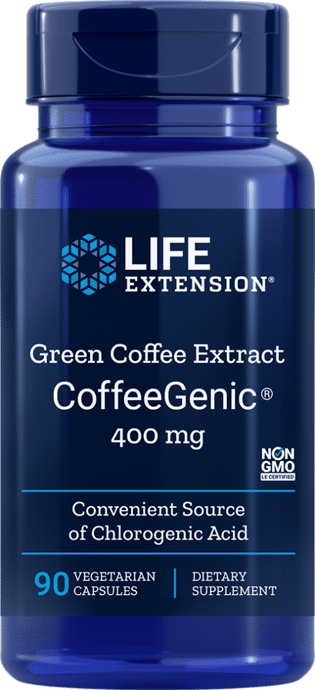 CoffeeGenic® Green Coffee Ext, 400 mg, 90 VeggieC 1