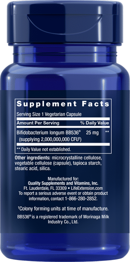 Bifido GI Balance, 60 vegetarian capsules 2