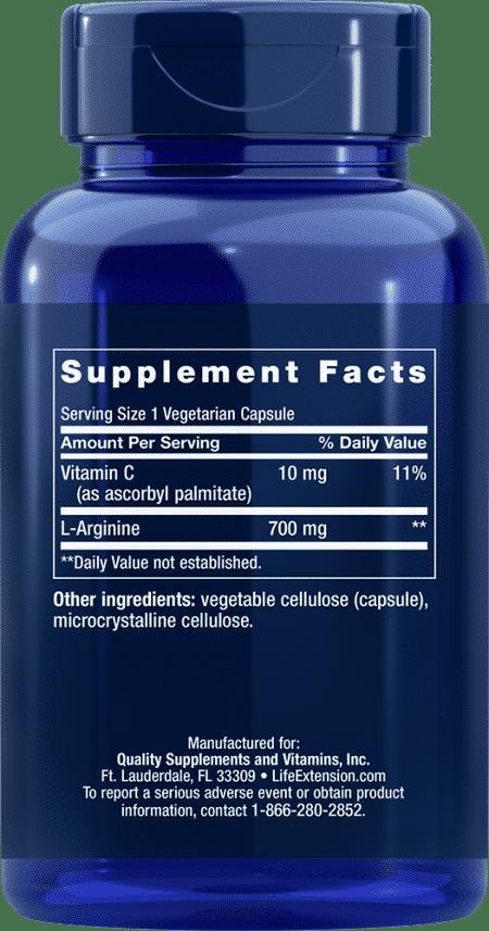 L-Arginine Caps, 700 mg, 200 vegetarian capsules 2
