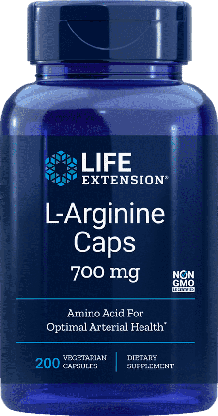 L-Arginine Caps, 700 mg, 200 vegetarian capsules 1