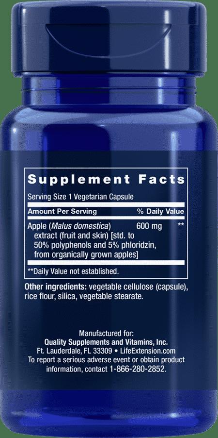 AppleWise, 600 mg, 30 vegetarian capsules 2