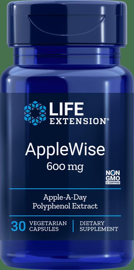 AppleWise, 600 mg, 30 vegetarian capsules 1