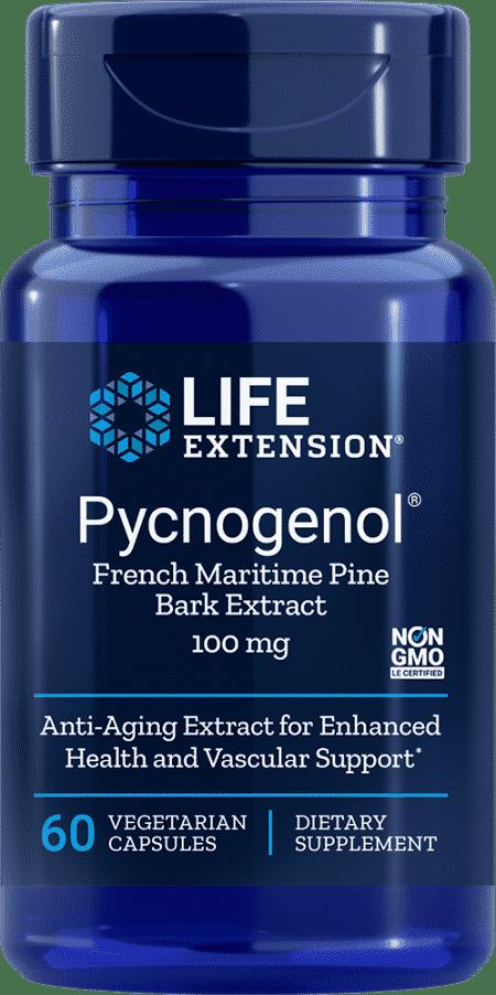 Pycnogenol®, 100 mg, 60 vegetarian capsules 1