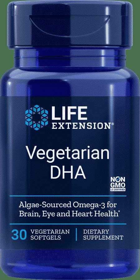 Vegetarian DHA, 30 vegetarian softgels 1