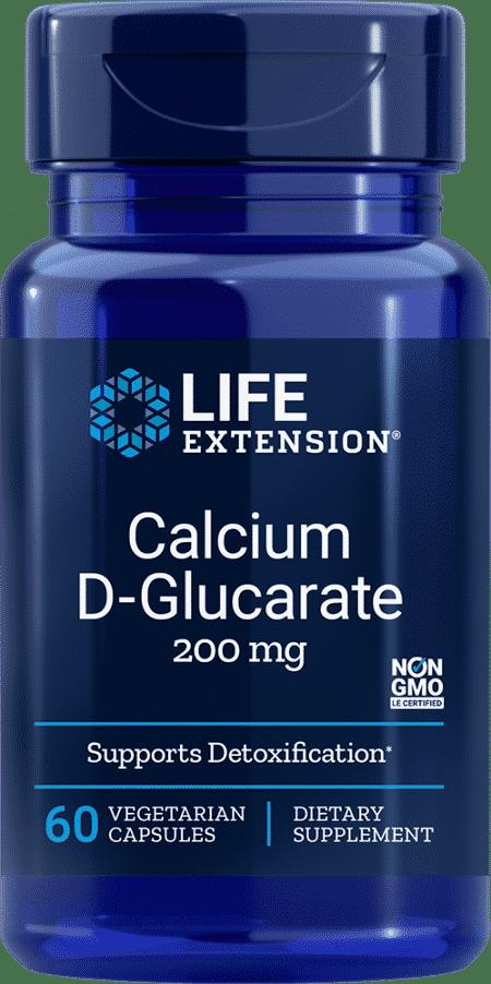 Calcium D-Glucarate, 200 mg, 60 VeggieC 1