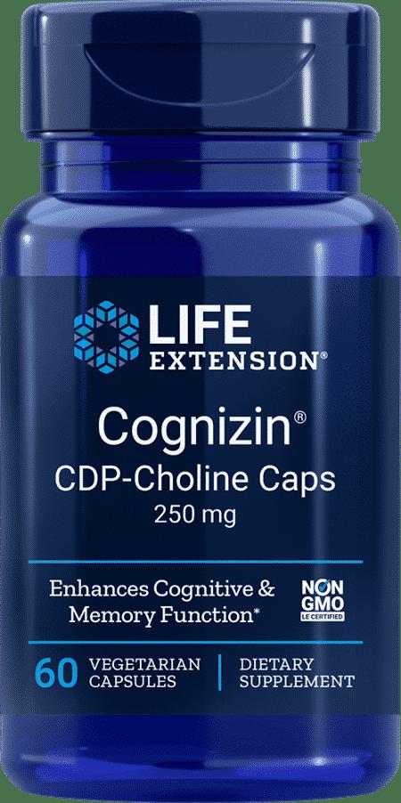 Cognizin® CDP-Choline Caps, 250 mg, 60 VeggieC 1