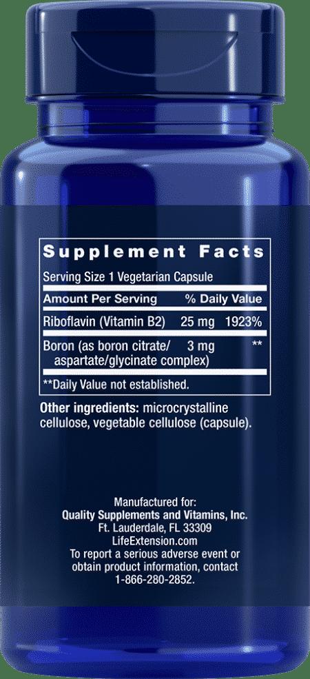 Boron, 3 mg, 100 vegetarian capsules 2