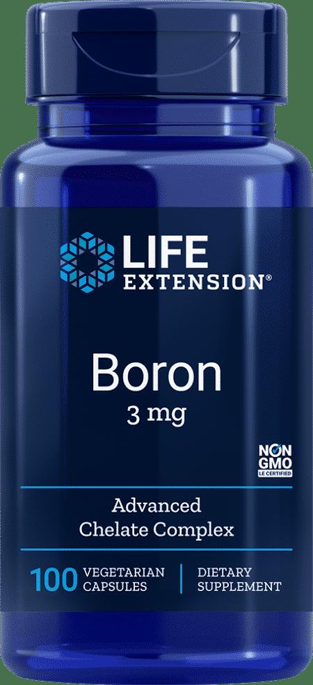Boron, 3 mg, 100 vegetarian capsules 1