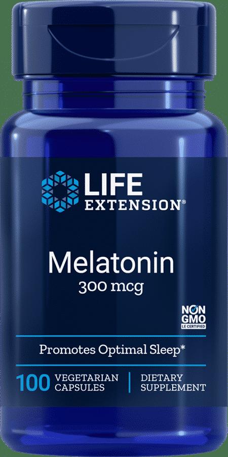 Melatonin, 300 mcg, 100 vegetarian capsules 1