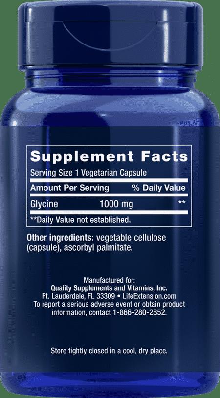 Glycine, 1000 mg, 100 vegetarian capsules 2